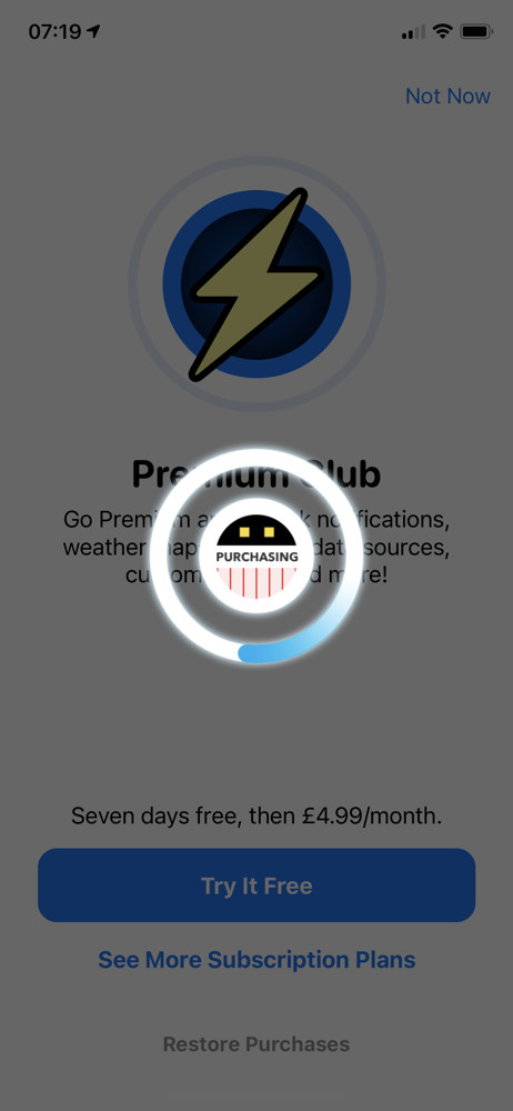 Carrot weather Loading screenshot