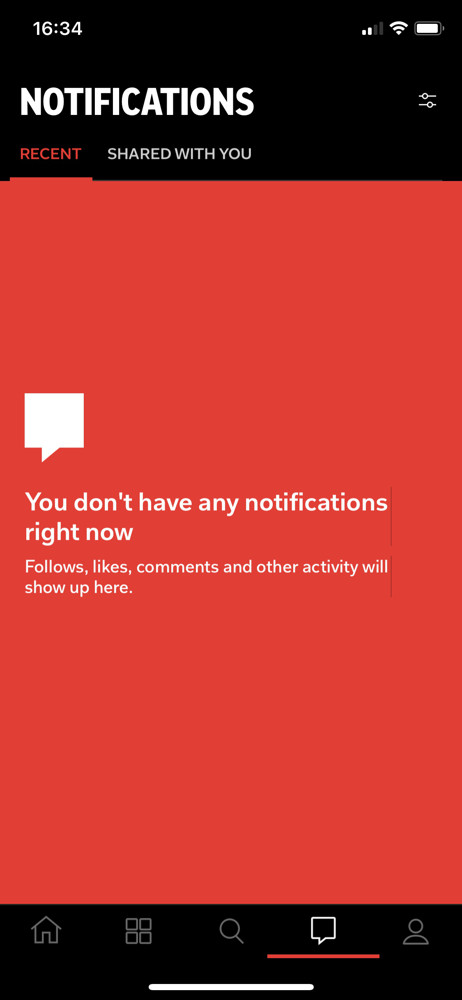 Flipboard notifications screenshot