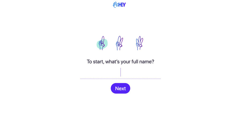 Hey Enter name screenshot