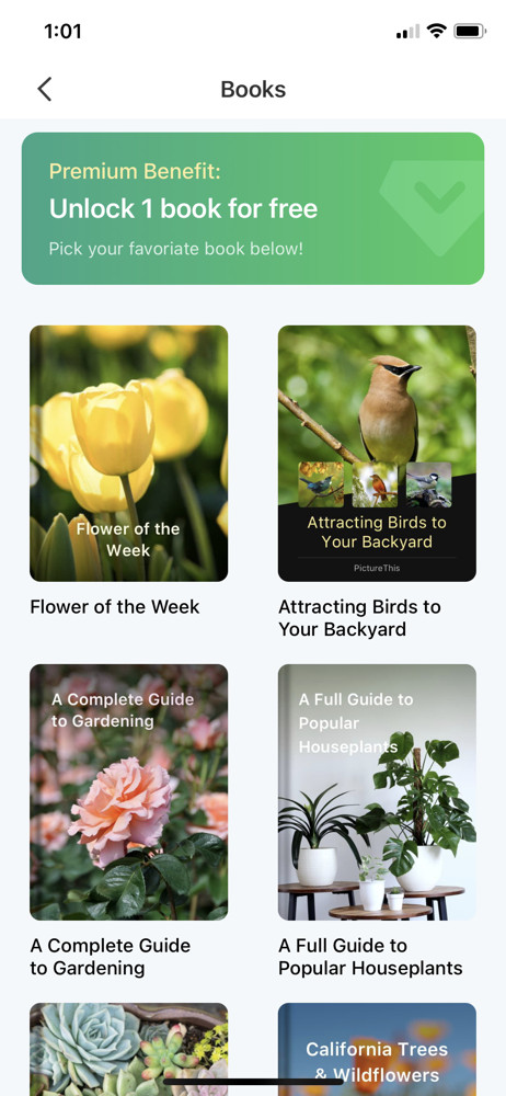 PictureThis Books screenshot