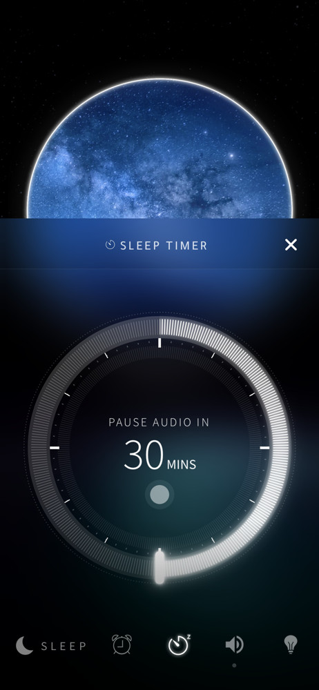 Portal Sleep timer screenshot